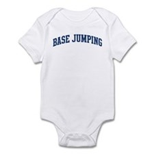 Base Jumping (blue curve) Infant Bodysuit