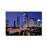 Tampa Souvenir Magnet
