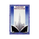 Cunard White Star Vintage Magnet