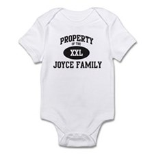 Property of Joyce Family Infant Bodysuit