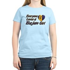 Everyone loves a Bajan girl T-Shirt