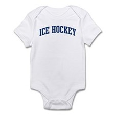 Ice Hockey (blue curve) Infant Bodysuit