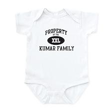Property of Kumar Family Infant Bodysuit