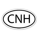 CNH Oval Decal
