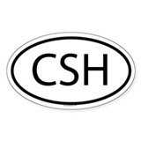 CSH Oval Decal