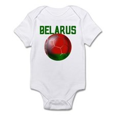 Belarus Soccer Football Gift Infant Bodysuit