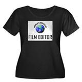 World's Greatest FILM EDITOR Women's Plus Size Sco