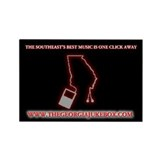 Funny Georgia music Rectangle Magnet (10 pack)
