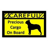 Precious Cargo Boston Terrier Sticker (Rect)