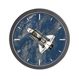 Space Shuttle Discovery Wall Clock