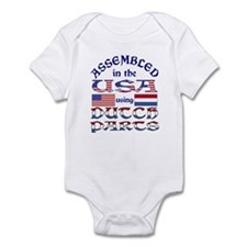 USA/Dutch Parts Infant Creeper