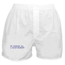 Meter Reader Boxer Shorts