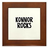 Konnor Rocks Framed Tile