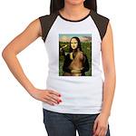 Mona / Briard Women's Cap Sleeve T-Shirt
