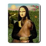 Mona / Briard Mousepad