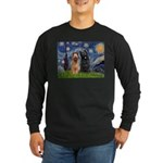 Starry - 2 Briards Long Sleeve Dark T-Shirt