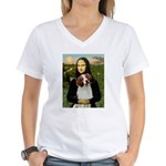 Mona / Brittany S Women's V-Neck T-Shirt