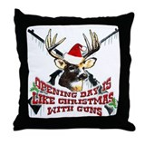 Yes indeed opening day is lik Throw Pillow