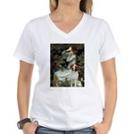 Ophelia /Brittany S Women's V-Neck T-Shirt