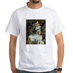 Ophelia /Brittany S White T-Shirt