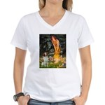 Fairies / Brittany S Women's V-Neck T-Shirt