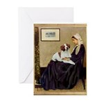 Whistler's /Brittany S Greeting Cards (Pk of 20)