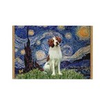 Starry / Brittany S Rectangle Magnet