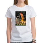 Fairies / Bullmastiff Women's T-Shirt