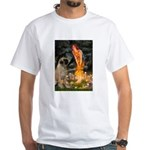 Fairies / Bullmastiff White T-Shirt