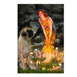 Fairies / Bullmastiff Postcards (Package of 8)