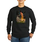 Fairies / Bullmastiff Long Sleeve Dark T-Shirt