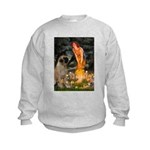 Fairies / Bullmastiff Kids Sweatshirt