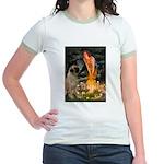 Fairies / Bullmastiff Jr. Ringer T-Shirt