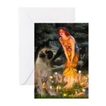 Fairies / Bullmastiff Greeting Cards (Pk of 20)