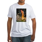 Fairies / Bullmastiff Fitted T-Shirt