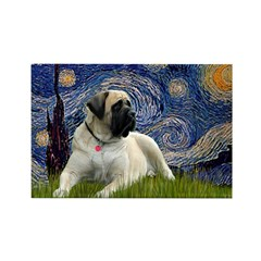 Starry / Bullmastiff Rectangle Magnet (10 pack)
