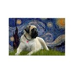 Starry / Bullmastiff Rectangle Magnet