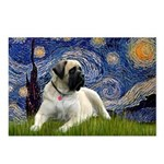 Starry / Bullmastiff Postcards (Package of 8)
