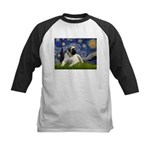 Starry / Bullmastiff Kids Baseball Jersey
