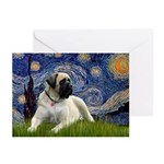 Starry / Bullmastiff Greeting Cards (Pk of 10)