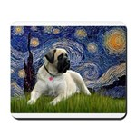 Starry / Bullmastiff Mousepad