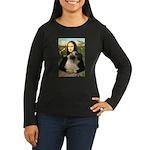 Mona /Bullmastiff Women's Long Sleeve Dark T-Shirt