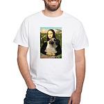 Mona /Bullmastiff White T-Shirt