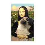 Mona /Bullmastiff Sticker (Rectangle)