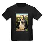 Mona /Bullmastiff Kids Dark T-Shirt
