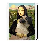 Mona /Bullmastiff Mousepad