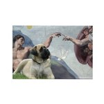 Creation / Bullmastiff Rectangle Magnet