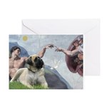 Creation / Bullmastiff Greeting Card