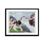 Creation / Bullmastiff Framed Panel Print