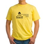 Too Fond of Books (LM Alcott) Yellow T-Shirt